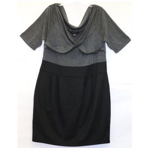 Junior Size 2X Gray Work Dress